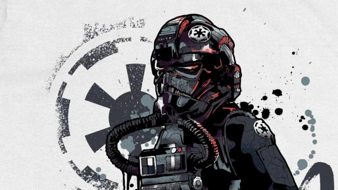 Star Wars Tie Fighter Pilot Fan Art 1920x1080 Download Hd Wallpaper Wallpapertip