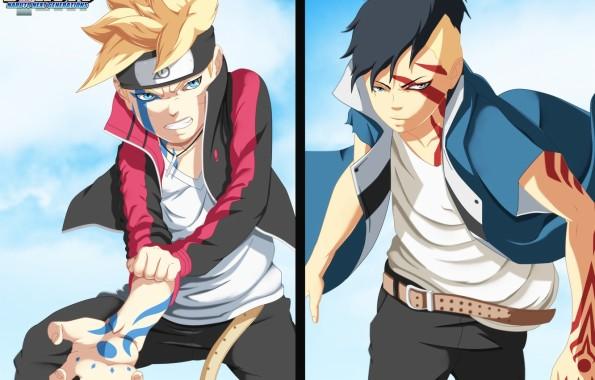 Photo Wallpaper Anime Art Guys Boruto Boruto Cool Naruto And Boruto 1332x850 Download Hd Wallpaper Wallpapertip