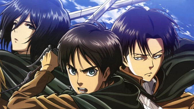 Attack On Titan Wallpaper Eren And Levi 1920x1080 Download Hd Wallpaper Wallpapertip