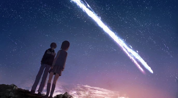 Your Name Wallpapers Aesthetic Kimi No Na Wa Gif Background 1920x1200 Download Hd Wallpaper Wallpapertip