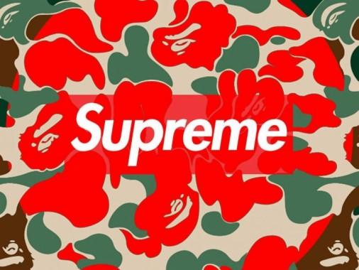 1 18729 red bape wallpaper logo wallpaper supreme bape
