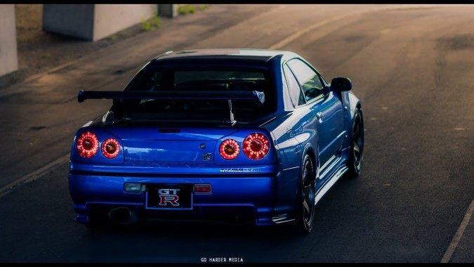 Nissan Gtr R34 4k 1280x720 Download Hd Wallpaper Wallpapertip