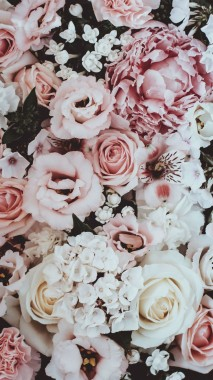 10 108135 rose gold flower wallpaper iphone