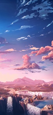 Aesthetic Anime Wallpaper Iphone 736x1345 Download Hd Wallpaper Wallpapertip