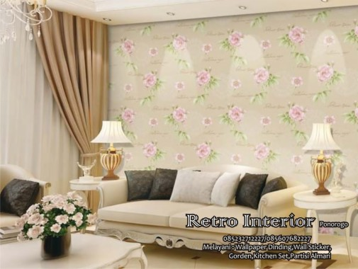 11 117227 motif wallpaper ruang tamu
