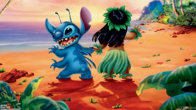 Lilo And Stitch Wallpaper Hd For Iphone And Android Lilo And Stitch Background 1600x900 Download Hd Wallpaper Wallpapertip