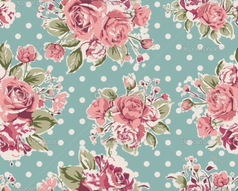 Vintage Flower Wallpaper 1000x1000 Download Hd Wallpaper Wallpapertip