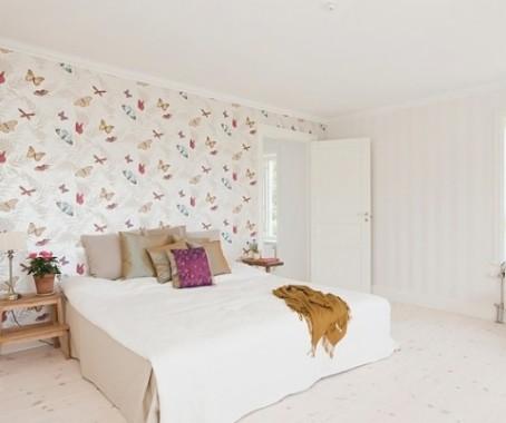 wallpaper dinding kamar anak perempuan unicorn