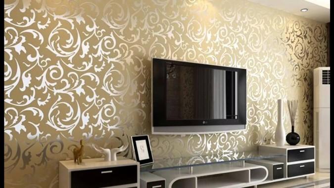 12 128447 memilih desain wallpaper dinding ruang tamu renovasi design