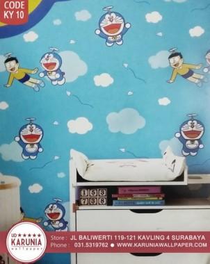 12 129015 40 wallpaper dinding doraemon murah terbaru doraemon