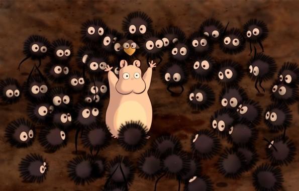 Photo Wallpaper Anime Spirited Away Spirited Away Baby Spirited Away Characters 1332x850 Download Hd Wallpaper Wallpapertip
