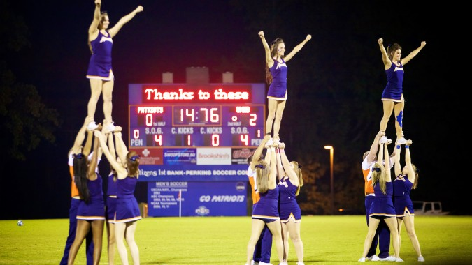 Pro's Guide To Tumbling For Cheerleading: Front Tuck - Omni Cheer Blog