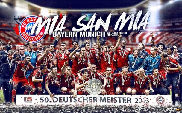 Win Champions Bayern Munich Wallpaper Wallpaper Bayern Munich Hd 1440x900 Download Hd Wallpaper Wallpapertip