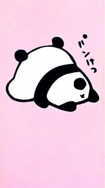 129 1298410 background panda pink