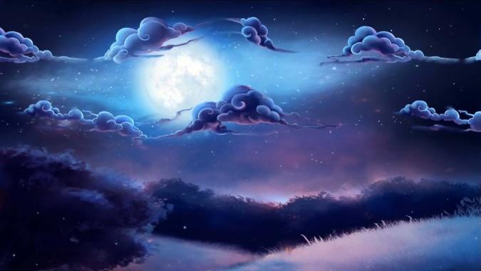 13 135006 cloudy night sky live wallpaper windows live wallpaper