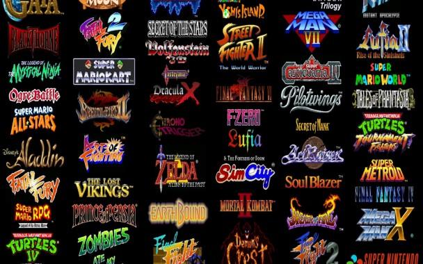 Video Games Super Nintendo Retro Games Wallpaper Retro Gaming Wallpaper Hd 1920x1200 Download Hd Wallpaper Wallpapertip