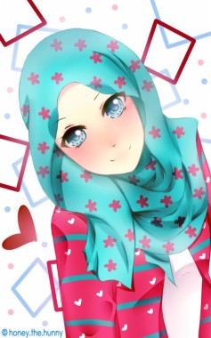 140 1407877 awesome wallpaper cute cartoon muslimah this month anime