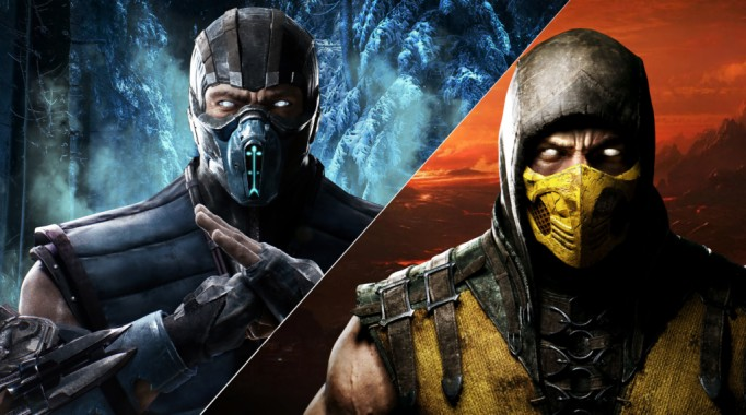 sub zero wallpaper scorpion mortal kombat