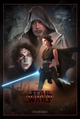 The Last Jedi Poster Wallpaper Poster Star Wars Episode Viii The Last Jedi 2017 1024x1517 Download Hd Wallpaper Wallpapertip