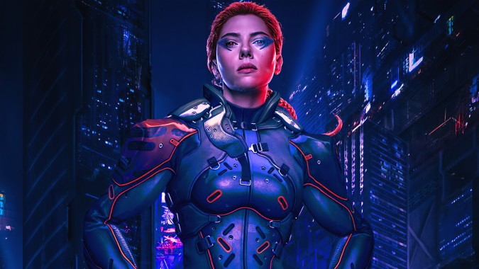 Cyberpunk, Girl, Sci-fi, 4k, - Cyberpunk 2077 Wallpaper ...