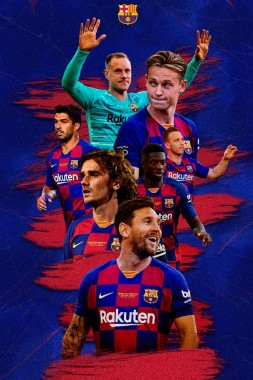 Fc Barcelona Wallpaper Spanish Football Team Barcelona 640x960 Download Hd Wallpaper Wallpapertip