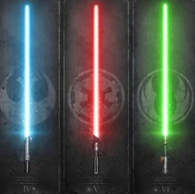 164 1644229 star wars green lightsaber