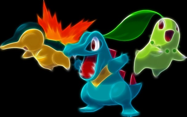 Pokemon Wallpaper Starters Johto New Pokemon Photos Hd 1280x800 Download Hd Wallpaper Wallpapertip