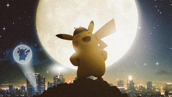 detective pikachu charizard wallpaper