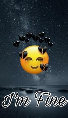 175 1757739 im fine happy sad emoji