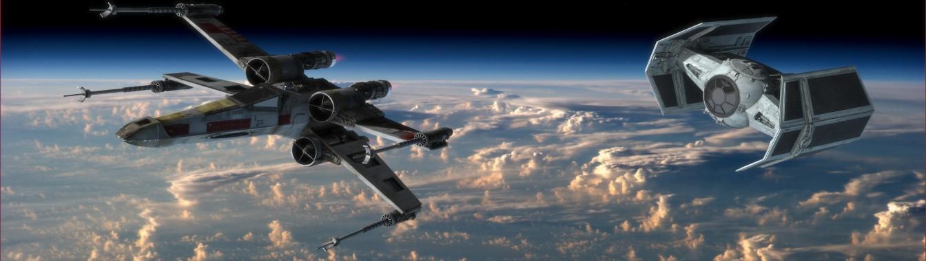 Dual Screen Png Star Wars Aerospace Engineering 3840x1085 Download Hd Wallpaper Wallpapertip