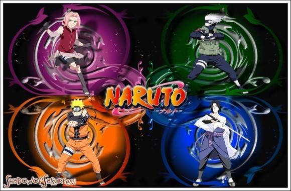 Naruto Wallpaper Team 7 1680x1080 Download Hd Wallpaper Wallpapertip