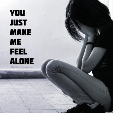 Best Whatsapp Lonely Status Alone Quotes Loneliness Status I Am Alone 1080x1080 Download Hd Wallpaper Wallpapertip