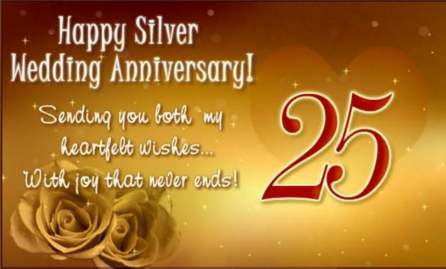 Happy Silver Wedding Anniversary 25th Anniversary Wishes For Bhaiya And Bhabhi 1024x617 Download Hd Wallpaper Wallpapertip A special wish for a special couple in my life; happy silver wedding anniversary 25th