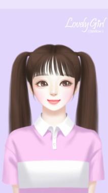182 1820239 art beauty and cartoon image korean cute lovely