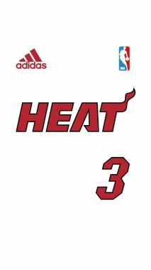 Miami Heat Logo Wallpaper Iphone 750x1334 Download Hd Wallpaper Wallpapertip
