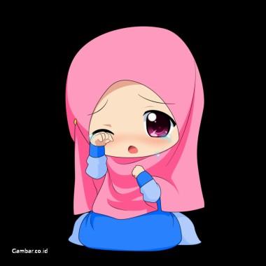 1000 Gambar Kartun Wanita Muslimah Cantik Dan Lucu Anime Girl Hijab Hoodie 900x1125 Download Hd Wallpaper Wallpapertip