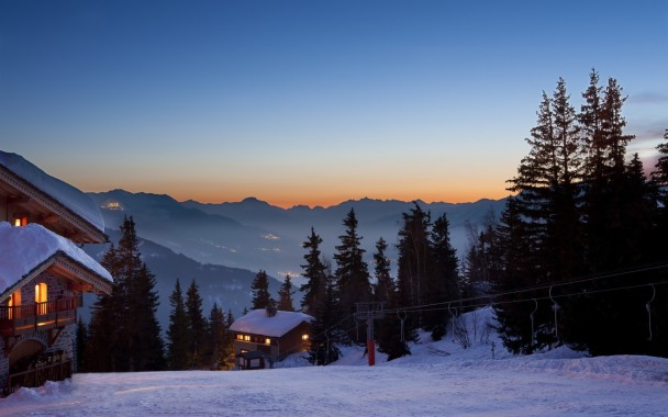 Norway Winter Cabin Wallpaper Ski Lodge In Snow 1920x1200 Download Hd Wallpaper Wallpapertip