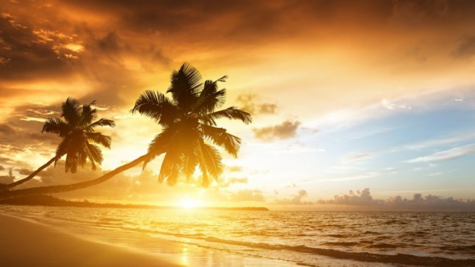Super High Resolution Beach Hd Beach Sun Background 1080x608 Download Hd Wallpaper Wallpapertip