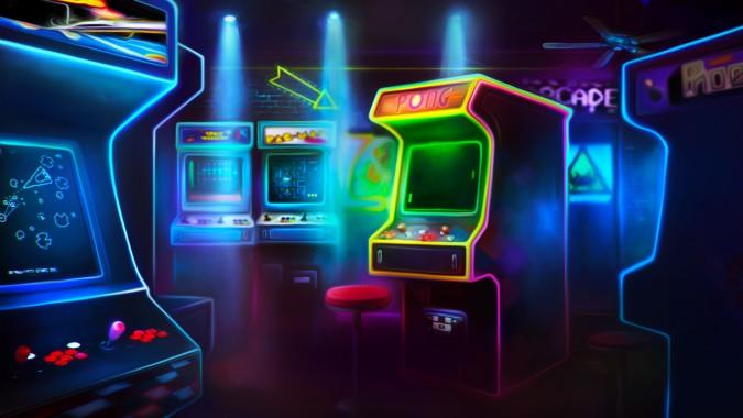 Gaming Neon Wallpaper Widescreen Top Wallpaper Widescreen Slot Games 1366x768 Download Hd Wallpaper Wallpapertip