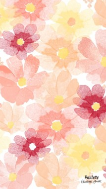 pink pattern peach flower floral design design background iphone watercolor flowers 640x1136 download hd wallpaper wallpapertip pink pattern peach flower floral