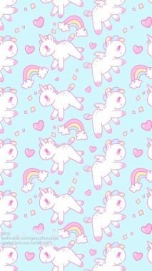 Cute Unicorn Phone Wallpapers Unicorn Kawaii Wallpaper Cute 750x1334 Download Hd Wallpaper Wallpapertip
