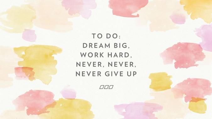 Motivation Pink Wallpaper Iphone Work Hard Dream Big Pc 2048x1152 Download Hd Wallpaper Wallpapertip
