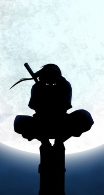 2 20289 new iphone anime silhouette wallpaper gallery naruto wallpaper