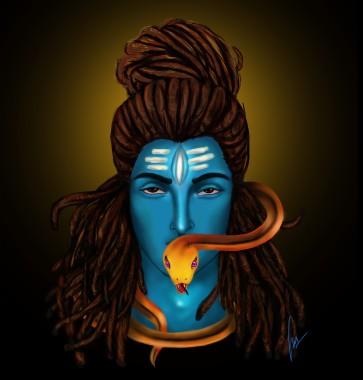 Cute Lord Shiva Cartoon 750x750 Download Hd Wallpaper Wallpapertip