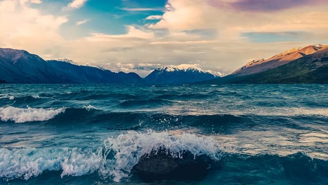 aesthetic background landscape