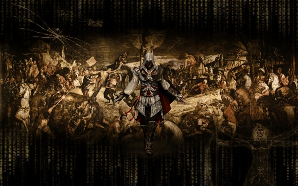 Ezio Assassins Creed Backgrounds 1920x1200 Download Hd Wallpaper Wallpapertip