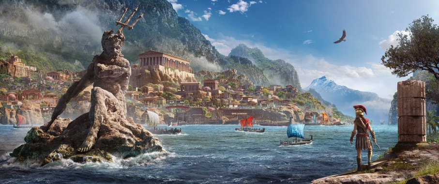 Assassin S Creed Odyssey 3440x1440 Download Hd Wallpaper