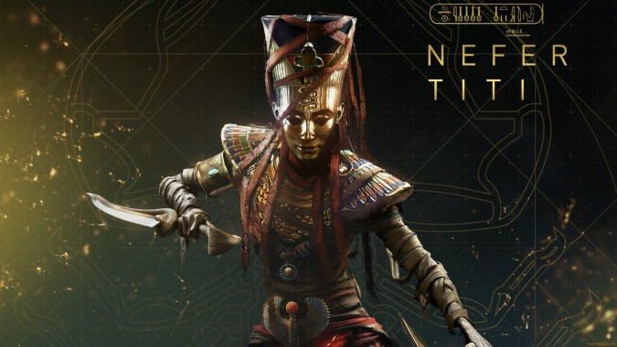 Assassins Creed Origins Nefertiti 4k Wallpaper Assassin S Creed