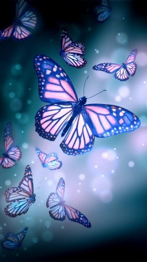 Butterflies Wallpaper Iphone Purple 1080x1920 Download Hd Wallpaper Wallpapertip