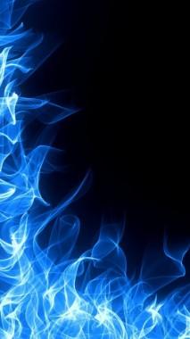 Blue Fire Wallpaper Iphone 720x1280 Download Hd Wallpaper Wallpapertip